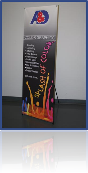 Ad technical supply ad color graphics transfers ideas into reality from a rough idea to a finished poster banner or trade show display ad color graphics has the malvernweather Images